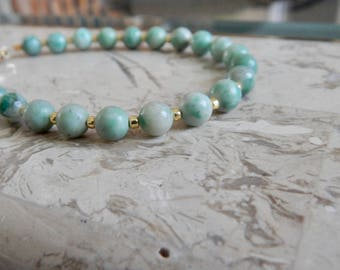 Light Blue Marble Bracelet