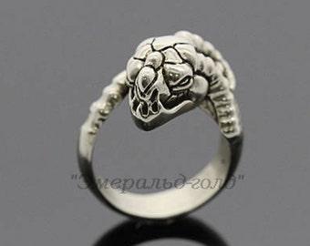 Fantasy dragon Mythology Mystic dragon Mystical animal Mystical jewelry  Dragon head Authoring ring Mythology jewelry