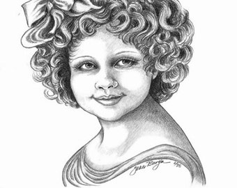 Girl With Curls
