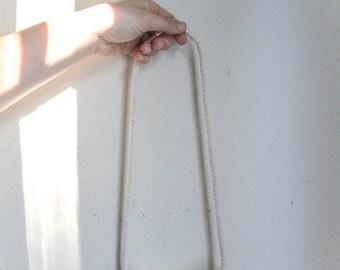 Ceramic + Rope Necklace