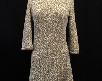 Tannel Knits 60's Knit Dress