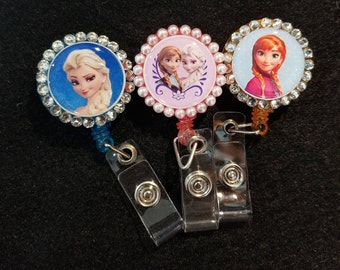 Frozen Badge Reel Set of 3