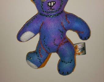 Teddy Bear Art Doll