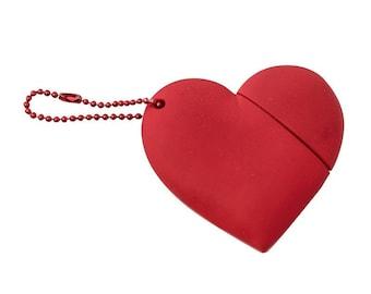 USB 8 GB heart