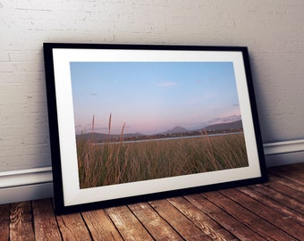 Donegal Art Print - Ireland Art - Poster - Irish - Annagry - Mount Errigal - Ireland - Photography - Life Love Quotes - Digital Print