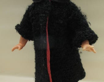 Vintage 1950s Vintage Dolls Boucle Coat - Mamselle by Lines Bros - To Fit 12 inch Doll