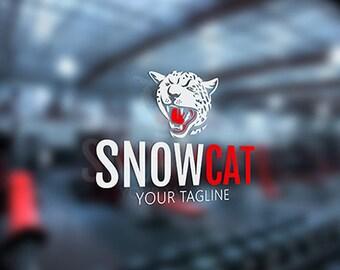 Leopard Logo Puma Logotype Cat Jaguar Print Design Template