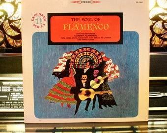 SPANISH VINYL RECORD: Cuadro Flamenco - The Soul Of Flamenco - Spanish Vinyl Record Lp - Great Gift!