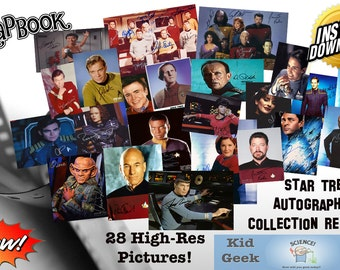 Star Trek Autograph Collections (Reprints)