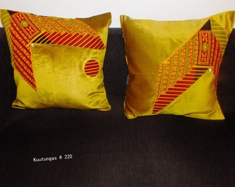 SET of 2 PILLOW COVERS