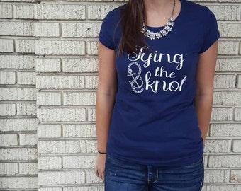 Tying the Knot, Bridal T-shirt