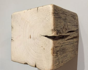 Wall Shelf - Reclaimed Barn Wood