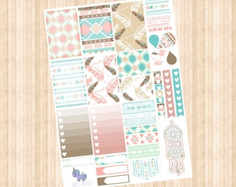Boho Weekly Kit // Happy Planner // Erin Condren  // Personal