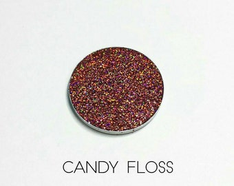 Pressed Glitter Eyeshadow - 'Candy Floss'