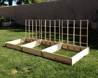 3ft. X 3ft. x 7in. Cedar Raised Garden Bed