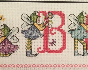 Fairies Cross-Stitch Names