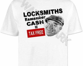 Locksmith T shirt . shirts . tools . Locksmiths