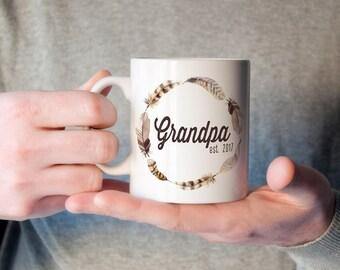 Personalized Grandpa Mug | New Grandparent Mug | Grandpa Mug | Personalized Grandpa Christmas Gift |  Future Grandpa Mug | Stocking Stuffer