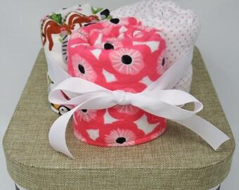 Delia Burp Cloth Set