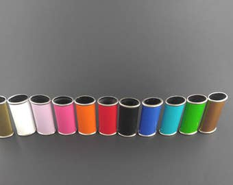 BIC Lighter Cover METAL w/ Vinyl Wrapped Metal (many colors to choose)