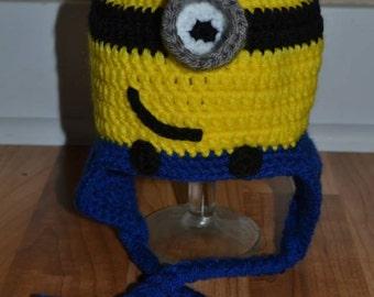 Minion Inspired Hat