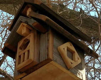 Bird House made from Recycled Wood