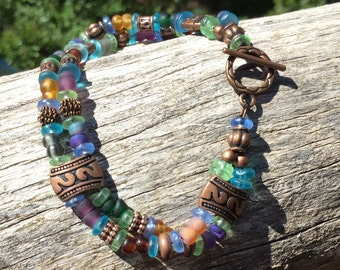 Fun Bracelet With Copper Accents