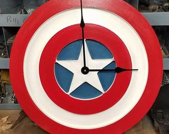 Captain America Clock