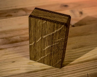 White Oak Joint Case, Handcrafted Wooden Box