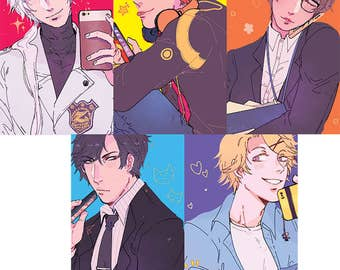 mystic messenger postcards