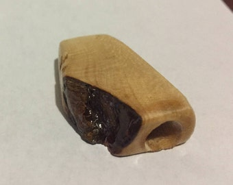 Birdseye Maple Wood Toke stone handmade #13