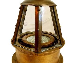 Vintage Skylight Binnacle Compass