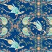 HALF PRICE SALE!!! Wildwood by Ana Davis by blend fabrics Woodland Pheasant in Royal Blue