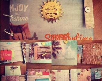 "Beautiful Album Scrap ""Sweet SummerTime"" - 26, 5x23x4cm"