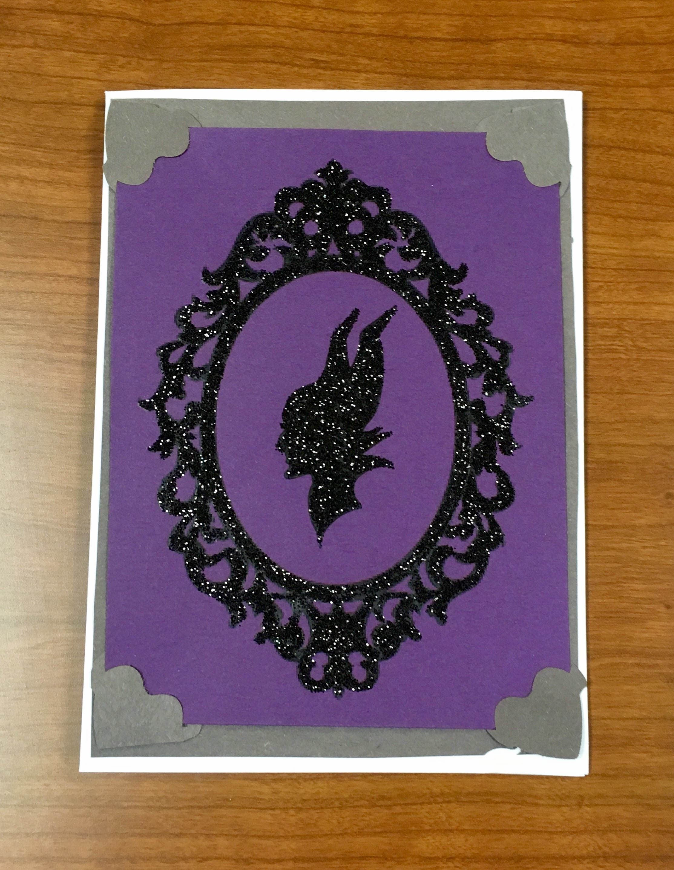 Maleficent Birthday Card