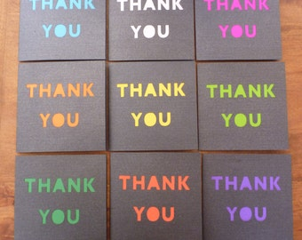 Paper Cut Thank You Card