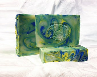 Vetiver Grass Vegan Handcrafted Soap