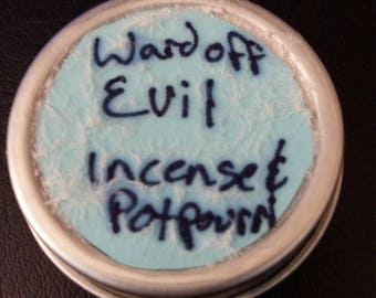 Incense used to Ward off Evil