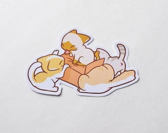 Cute Kitten Sticker