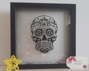 Skull box frame