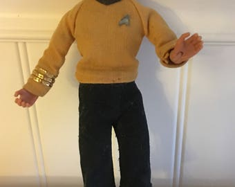 Star Trek Captain Kirk Actiion Figure Mego Corp 1974