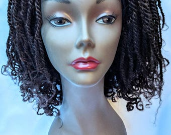 Kinky Twist Wig (Brown)