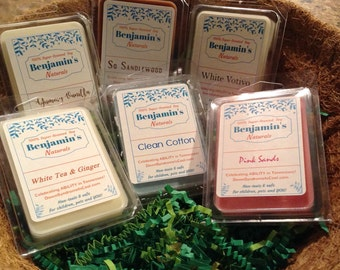 100% Super Scented Soy Melts-no phlalates!