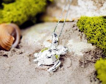 Turtle Honu Necklace Pendant