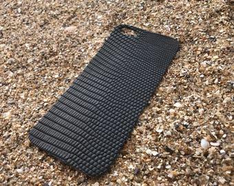 Black Lizard skin for iPhone