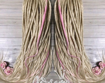Crochet Synthetic Dreads Double Ended