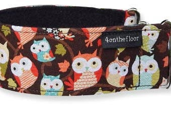 What a Hoot Martingale collar