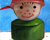 Fisher Price Little People Boy: Print on Paper