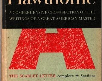 The Portable Hawthorne - Nathaniel Hawthorne - 1955 - Vintage Literature Book