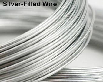 18 gauge Silver-Filled Wire (DS, by the foot)